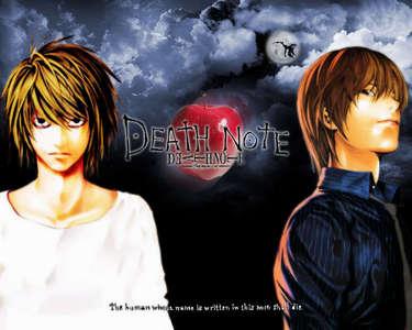Death Note এল-মৃত্যু পত্র & Kira