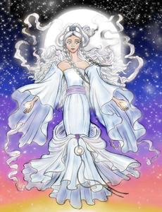 okz... it's Princess Yue/Moon Spirit!