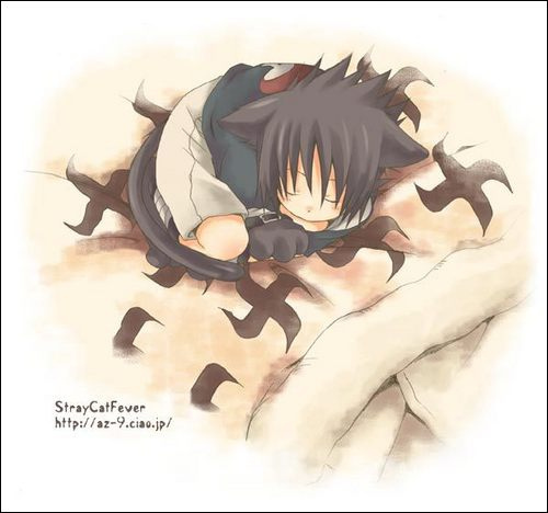 Sasuke Sleeping So kawaii >o<