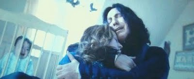 The classic Lily and Snape picture. So tragically beautiful...