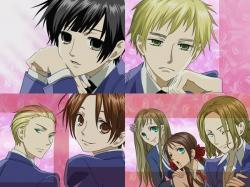 黑塔利亚 cast as the ouran host club