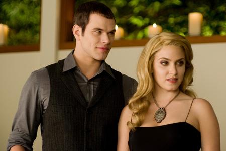 Rosalie and Emmett from the Twilight Saga.
