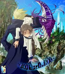 well...this!Frau holding Teito.
