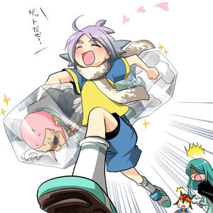 fubuki carrying someoka haha