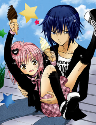 ikuto kun and amu chan