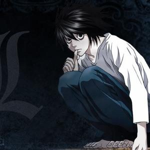 L-kun's hair. :D