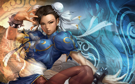 Chun-li from jalan fighter Edit: I have so many things that I have tons of pictures of it's ridiculous. Like REALLY ridiculous. I have literally about 500,000 right now. But Chun-li would be one of things I have alot of pics of.