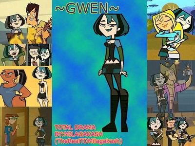 Gwen from Total Drama!