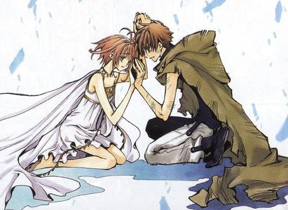 Sakura and Syaoran are constantly ripped apart and I think in one of the seasons they are rivals...
