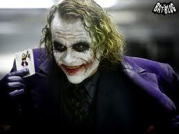 Movie: The Dark Knight. Character: The Joker