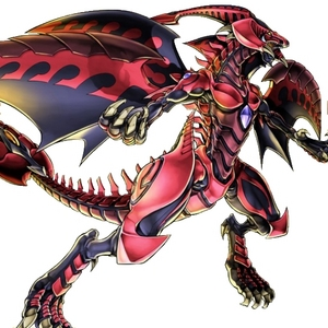 She reminds me of Red Nova Dragon from Yu-Gi-Oh 5D's.