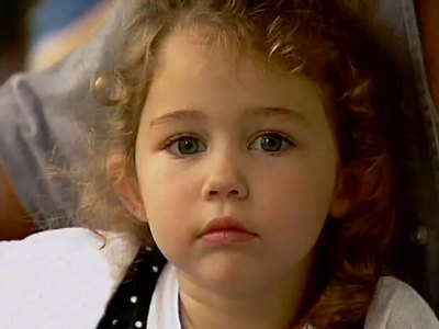 miley cyrus as a child