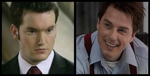 Gareth David-Lloyd and John Barrowman <3 :3 (Yes, the pictures are there characters in Torchwood) c: