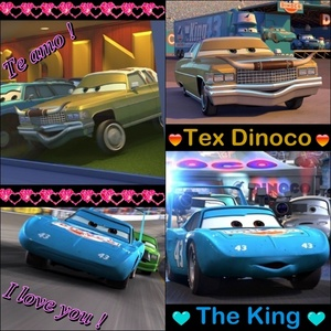Mine is The King and Tex ♥.