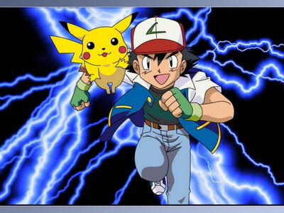 Pokemon. ^^ And the original version, with Misty and Brock. Not the newer ones.