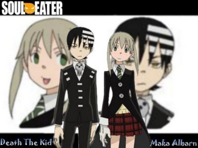 I'm Not Sure If This Counts But, Death And Maka!
