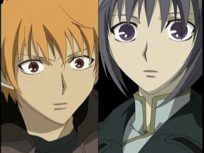 Fruits Basket Kyo And Yuki Fighting The best friends/enemi...