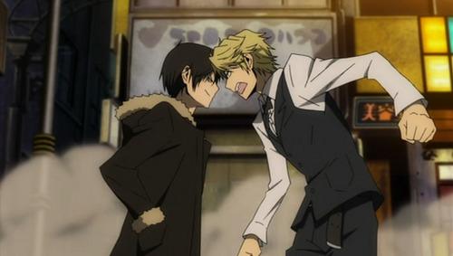 What better enemies (lovers ;D) then Shizaya? :D