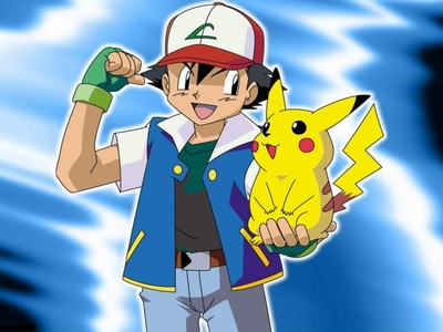 Ash and Pikachu. I think they have an excellent bond. ;]