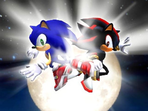 Sonic and Shadow in Sonic X