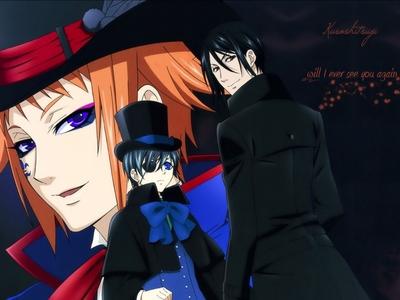 Drocell, Ciel & Sebastian from Kuroshitsuji.
