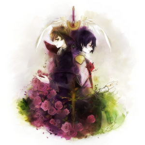 Lulu and Suzaku. The only ones I know so yeah.
