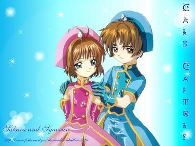 my very first anime was the card captors sakura.... i pag-ibig that ipakita a lot... specially her cards and all the stuff....