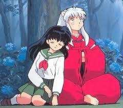 is it ok if some one else is in the pic. its kagome leaning on 犬夜叉 while she is sleeping