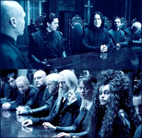 I don't have one favourite character but a group of favourites. My favourite characters: Tom Marvolo Riddle, Severus Snape, Lucius Malfoy, Narcissa Malfoy, Bellatrix Lestrange, Barty Crouch Jr. Least favourite: Molly Weasly, James Potter, Dobby, Dolores Umbridge.