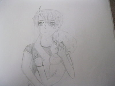 USUK!!! <33 lol its a weird pic I know! XD