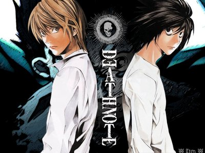 death note i saw it when i was 7...it's not the best anime for a 7 taon old but it was so awesome (btw i'm on L's side)
