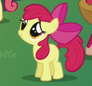 Slender Man's, because he has no eyes. And apple Bloom's eyes, because they're just so cute!