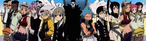 1. Maka 2. Death the kid 3. Tsubaki 4. Soul 5. Stein 6. Spirt ( because he's funny) 7. Lord death