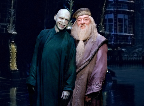 Guess i'm the only one, but for me it would be Voldemort. But a very funny one, out of the character, like this one? =)