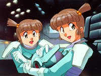 Emi and Yumi Hanner from The Irresponsible Captain Tylor.
