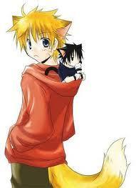 mine is Naruto uzumaki From Naruto =D