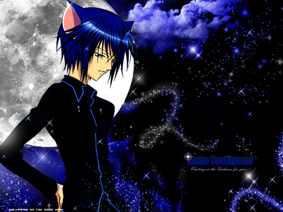 ikuto from shugo chara...hope 你 like!^^