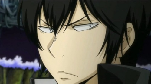 Hibari actually looking surprised