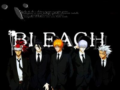 Mine was Bleach ^^