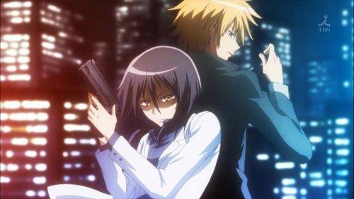 Hehe Misaki as Tukumi's bodyguard ^^