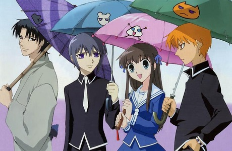 mine was fruits basket, and i still watch it over and over still today.