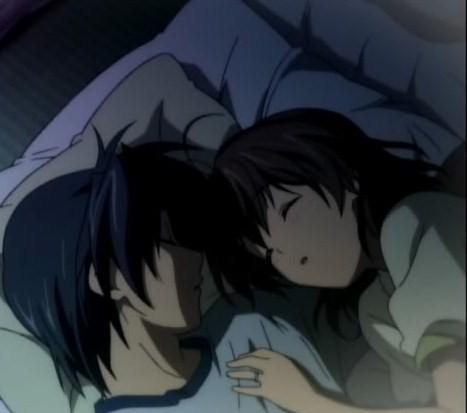 Nagisa and Tomoya Okazaki~
