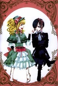 Ciel & Elizabeth - Kuroshitsuji.