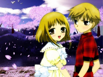 Kisa and Hiro Sohma from Fruits Basket. So cute! They never kissed, ऐनीमे या manga.