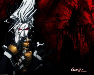 Try these: Trinity Blood and Blood +! Picture from Trinity Blood btw!