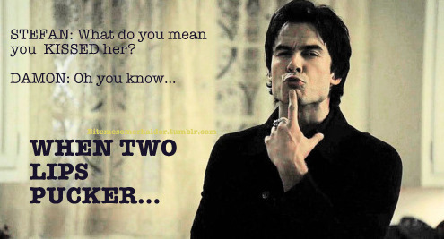 Funniest moment/scene on TVD? - Vampire Diaries Answers ...: http://www.fanpop.com/clubs/the-vampire-diaries/answers/show/288934/funniest-moment-scene-on-tvd