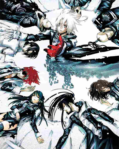 D-Gray Man. ;] Awesome costumes.