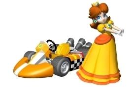 1.Daisy 2.Peach 3.Baby margarita 4.Luigi 5.Toad