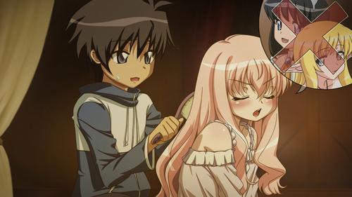 "Zero no Tsukaima (that counts, right? ^_^"")"