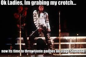 I never knew Michael was naughty!!!!